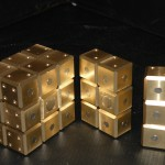 Karin Brass Rubic's Cube with Magnets